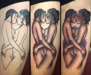sexet med tatoveringer