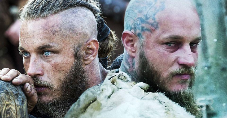 mænd med fuldskæg vikings